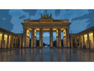 The Brandenburgh Gates, Berlin