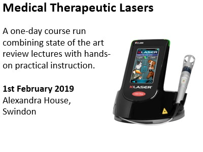 Laser Therapy in Vet Practice CPD Day - Swindon