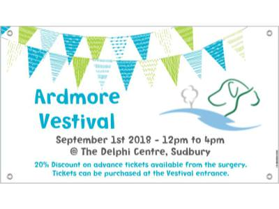 Ardmore Vestival is nearly here!