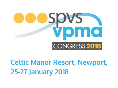 25-27th Jan 2018 SPVS VPMA Congress