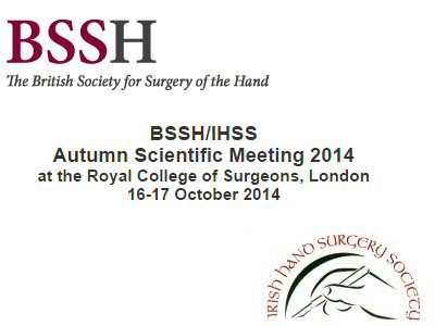 Oct 16-17th BSSH/IHSS Scientific Meeting