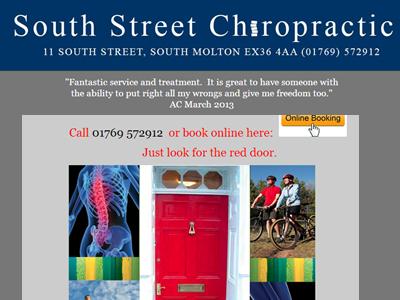 New Chiropractor Testimonial