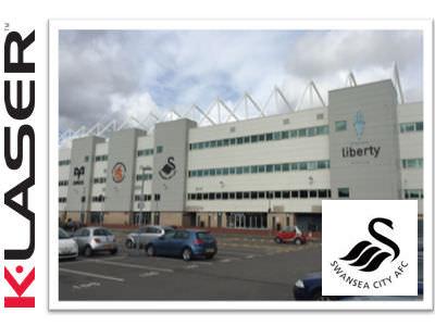 Swansea City FC take on K-Laser