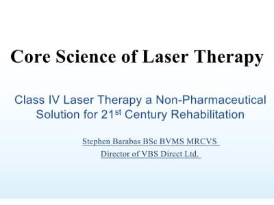 Core Science of Laser Therapies