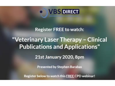 WebinarVet: Laser CPD