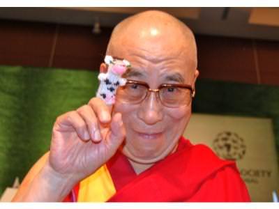 The Dalai Lamas gift