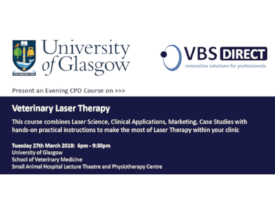 27th March 2018: Laser Therapy CPD - Glasgow Uni